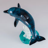 Bobble Dolphin On Spring Figurine 5