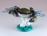 Bobble Crab On Spring Figurine 2