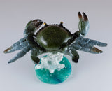 Bobble Crab On Spring Figurine 5