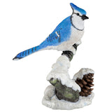 Blue jay bird figurine 1