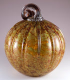 Pumpkin Hand Blown Glass Autumn Berry