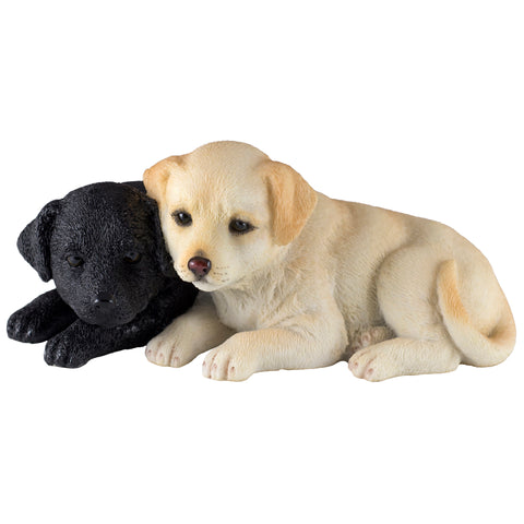 labrador puppies figurine