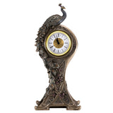Art Nouveau Peacock Clock 1