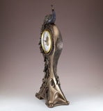 Art Nouveau Peacock Clock 4