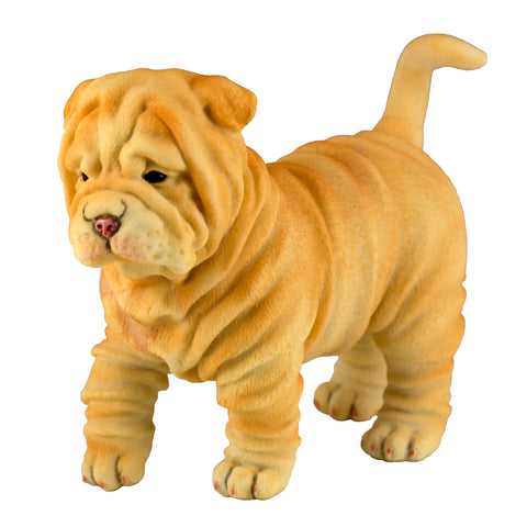 Shar Pei Puppy Dog Figurine 1