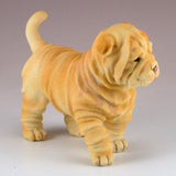 Shar Pei Puppy Dog Figurine 3