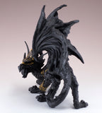 Black Dragon In Armor Figurine Statue 5