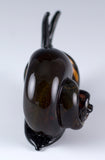 Amber Snail Hand Blown Glass Figurine 4