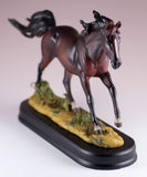 Horse Figurine Dark Brown Bay 2