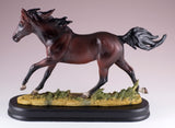 Horse Figurine Dark Brown Bay 3