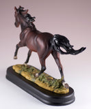Horse Figurine Dark Brown Bay 4