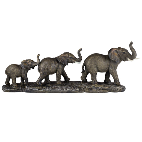 Elephant Family Figurine 1