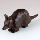 Armadillo Hand Carved Ironwood Wood Figurine 2