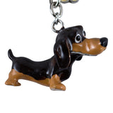 Little Paws Dachshund Dog Key Ring 2
