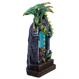 Dragons In LED Light Archway Figurine 3