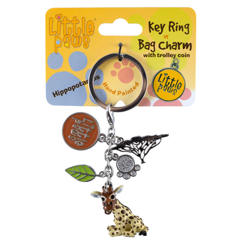 Little Paws Giraffe Key Ring 1