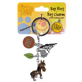 Little Paws Brown Horse Key Ring 1