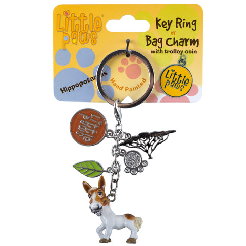 Little Paws Paint Pony Horse Key Ring 1