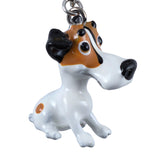 Little Paws Jack Russell Terrier Dog Key Ring 2