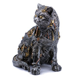 Steampunk Cat Figurine 2