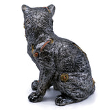 Steampunk Cat Figurine 3