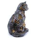 Steampunk Cat Figurine 4