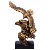 Bronze/Gold Tones Eagle Flying Bust Figurine 1