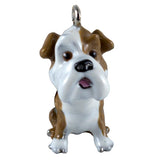 Little Paws Bulldog Dog Key Ring 2