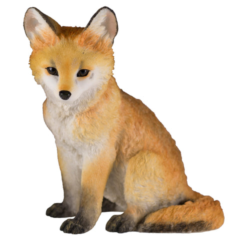 Red Fox Pup Kit Figurine 1