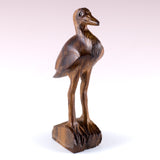 Blue Heron Hand Carved Ironwood Wood Figurine 2