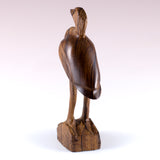 Blue Heron Hand Carved Ironwood Wood Figurine 4