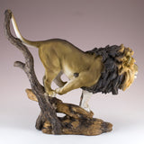 Male Lion Running Figurine 4