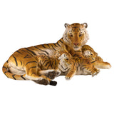 Tiger With 3 Cubs Figurine