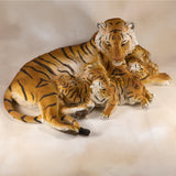 Tiger With 3 Cubs Figurine 2