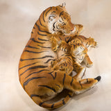 Tiger With 3 Cubs Figurine 4