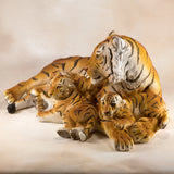 Tiger With 3 Cubs Figurine 6