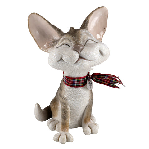 "Little Paws ""Purdy"" Happy Cat Figurine 1"