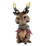 "Little Paws ""Steel"" Deer Buck Stag Reindeer Figurine 2"