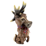 "Little Paws ""Steel"" Deer Buck Stag Reindeer Figurine 3"