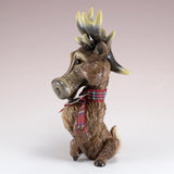 "Little Paws ""Steel"" Deer Buck Stag Reindeer Figurine 5"