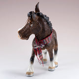 "Little Paws ""Mary"" Shire Horse Figurine 6"