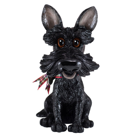 "Little Paws ""Sooty"" Scottie Scottish Terrier Dog Figurine"