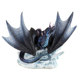 Black and Blue Dragon Figurine 1