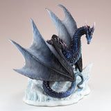 Black and Blue Dragon Figurine 2