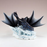 Black and Blue Dragon Figurine 3