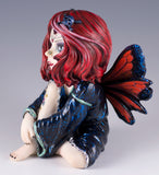 Cosplay Kids Fairy With Tattoo and Little Skull In Hair Figurine 2