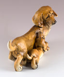 Dachshund With Puppy Dog Figurine 4