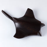 Manta Ray Hand Carved Ironwood Wood Figurine 7