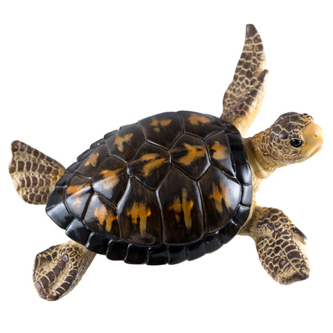 Brown Sea Turtle Statue Figurine 1