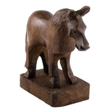 Horse Hand Carved Ironwood Wood Figurine 2
